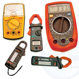Clampmeters, Multimeters